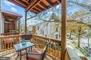 Rear Deck, off Kitchen - 1003 FLORIDA AVE NE, WASHINGTON