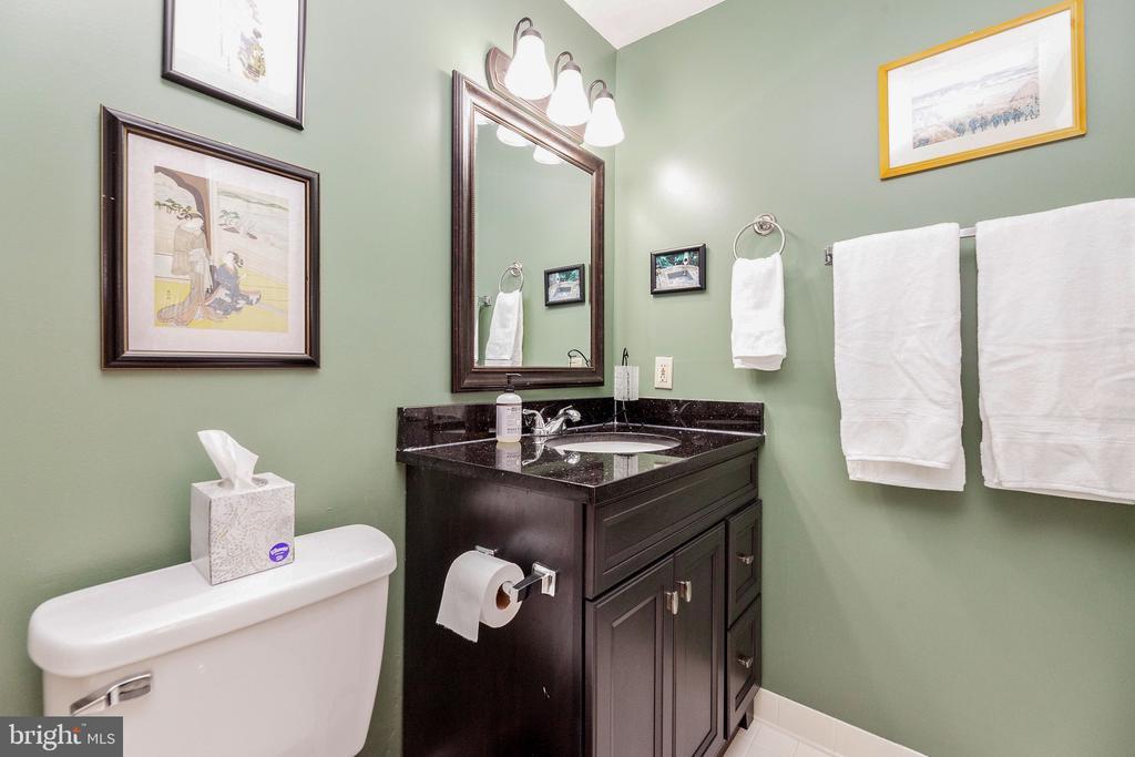Lower level full bath - 6407 BRASS BUTTON CT, CENTREVILLE