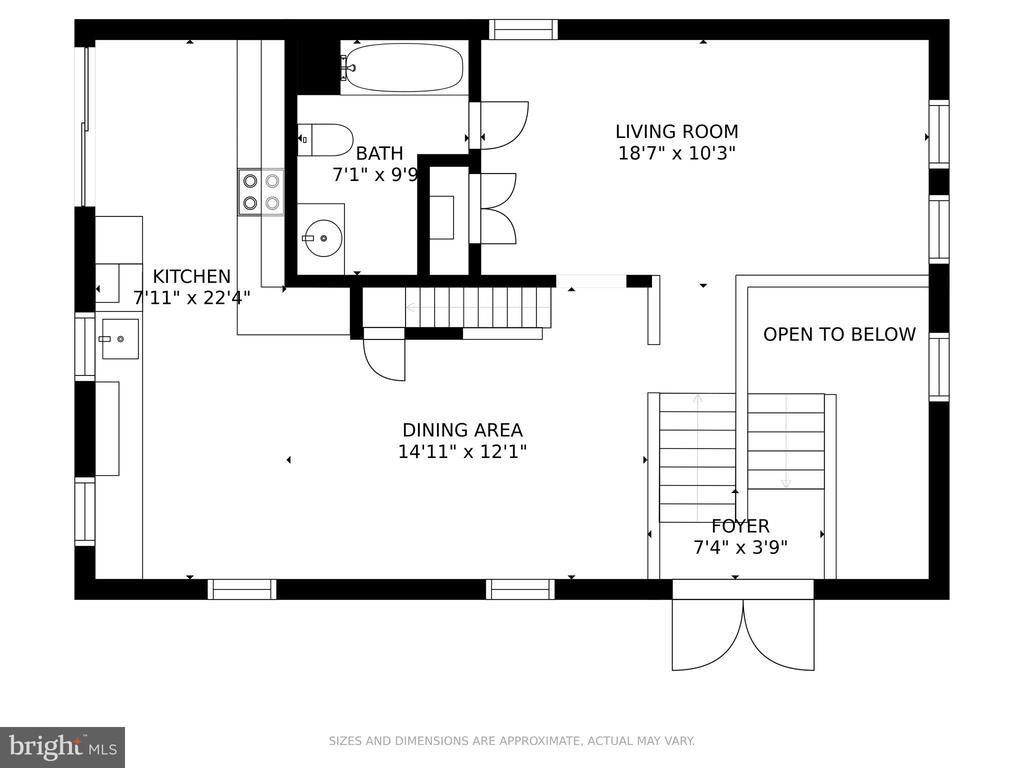 Main level - 15 SUNNY WAY, THURMONT