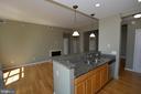 Kitchen / Livingroom - 1830 FOUNTAIN DR #1206, RESTON
