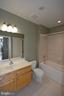 Guest bath - 1830 FOUNTAIN DR #1206, RESTON