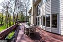 Deck spans the entire length of home - 847 WHANN AVE, MCLEAN