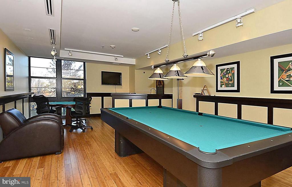Billiard room - 1830 FOUNTAIN DR #1206, RESTON