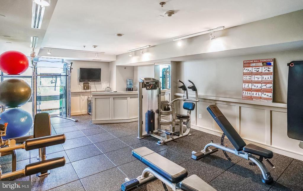 Exercise Room - 1830 FOUNTAIN DR #1206, RESTON