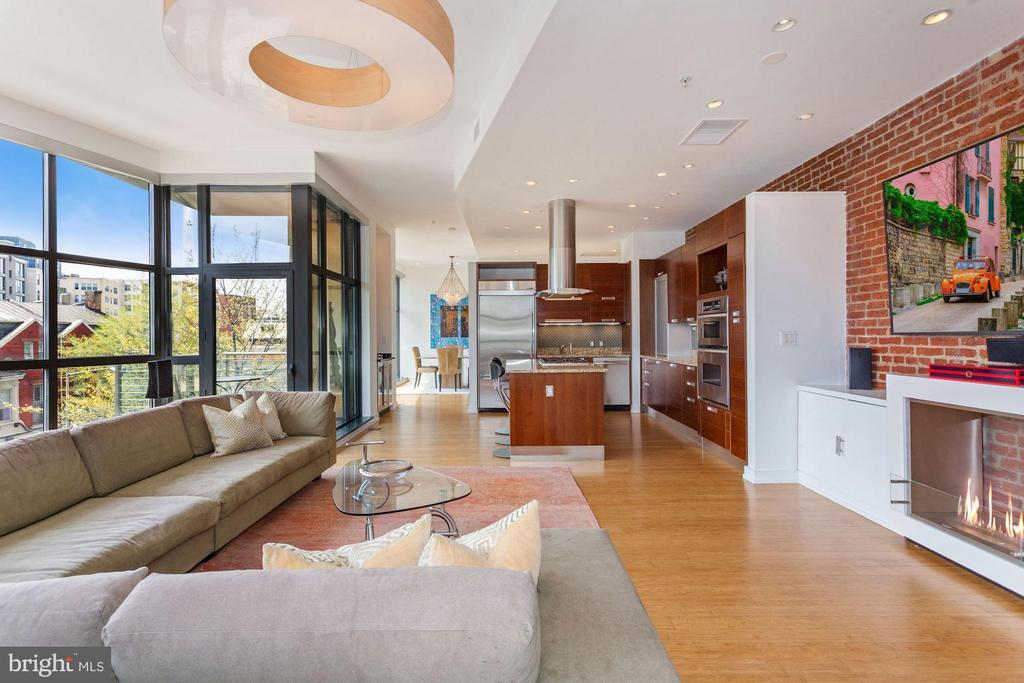 Open Floor Plan - 1413 P ST NW #302, WASHINGTON