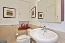 Half Bath - 1413 P ST NW #302, WASHINGTON