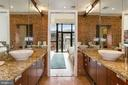 Master Suite - Dual Vanities with Vessel Sinks - 1413 P ST NW #302, WASHINGTON