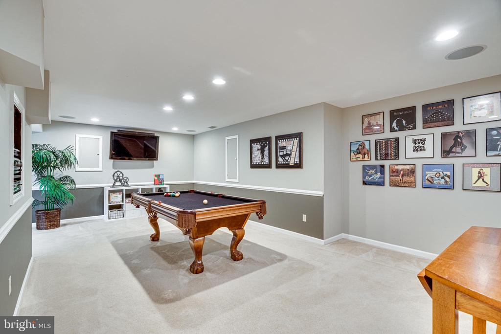 On the lower level you will find great space - 14721 PICKETS POST RD, CENTREVILLE