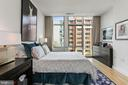 Master bedroom features plentiful closet space - 1177 22ND ST NW #4G, WASHINGTON