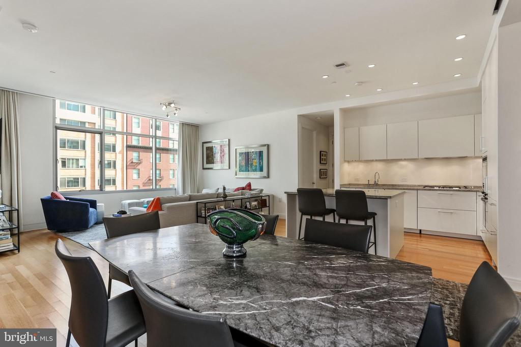 View from Dining Room area into unit - 1177 22ND ST NW #4G, WASHINGTON