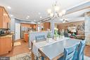 Breakfast Room toward Kitchen - 4170 MCCLOSKEY CT, CHANTILLY
