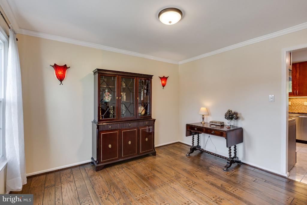 Main living area, could be dining room, you decide - 10 LODGE PL, ROCKVILLE