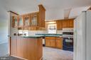 High counter with seating for 4 - 53 CAMP HILL LN, HARPERS FERRY
