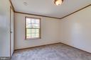 Bedroom 2 features carpet and overhead light - 53 CAMP HILL LN, HARPERS FERRY