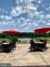 Summertime dining at the clubhouse - 18359 EAGLE POINT SQ, LEESBURG