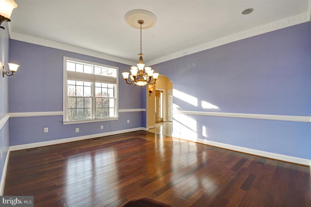 Trim Mouldings and Hardwood Flooring - 14515 SHIRLEY BOHN RD, MOUNT AIRY