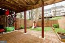 Outside Patio with Fenced in Yard - 20487 MORNINGSIDE TER, STERLING