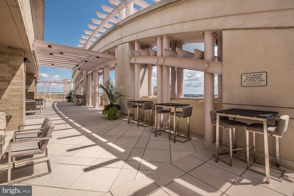 Entertain and enjoy relaxing on the rooftop - 888 N QUINCY ST #802, ARLINGTON