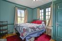 Bedroom  main level - 7704 IDYLWOOD RD, FALLS CHURCH
