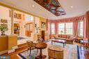 Ceiling-mounted Panel w/19 Century Artistry - 220 VIERLING DR, SILVER SPRING