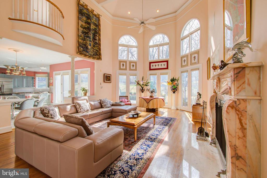 Family Room - 30' Ceiling - 220 VIERLING DR, SILVER SPRING