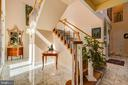One of Two Staircases - 220 VIERLING DR, SILVER SPRING