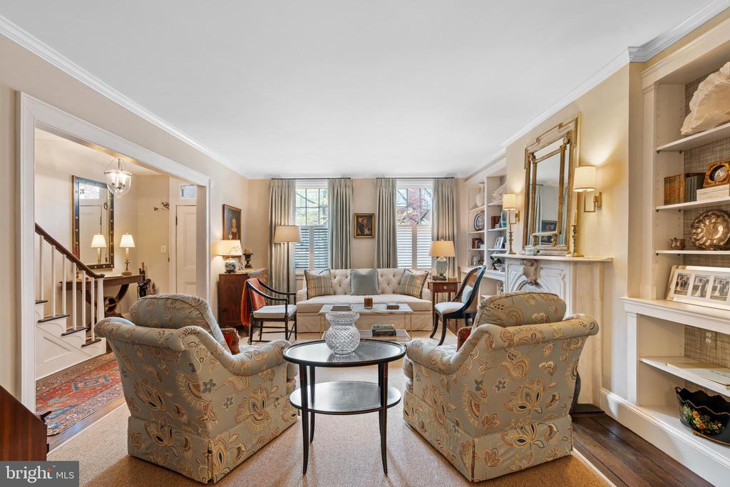 Living Room - 3013 P ST NW, WASHINGTON