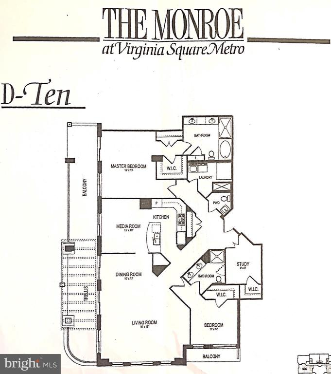 Just under 1900 SF w/one of the largest balconies - 3625 10TH ST N #903, ARLINGTON