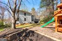 Back of Home - 11007 HOWLAND DR, RESTON