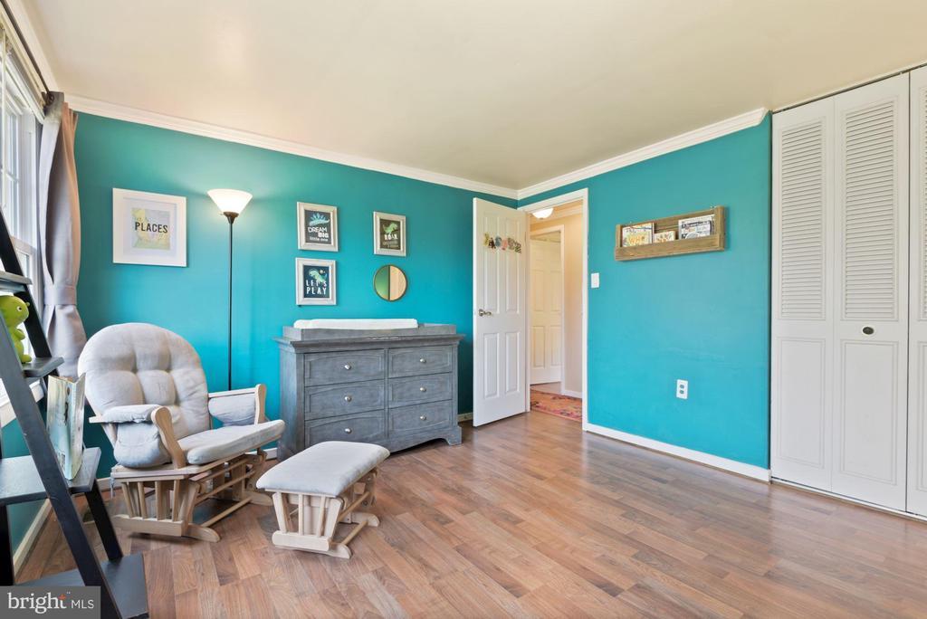 Bedroom #2 - Crown Molding & Wide Plank Flooring! - 11007 HOWLAND DR, RESTON