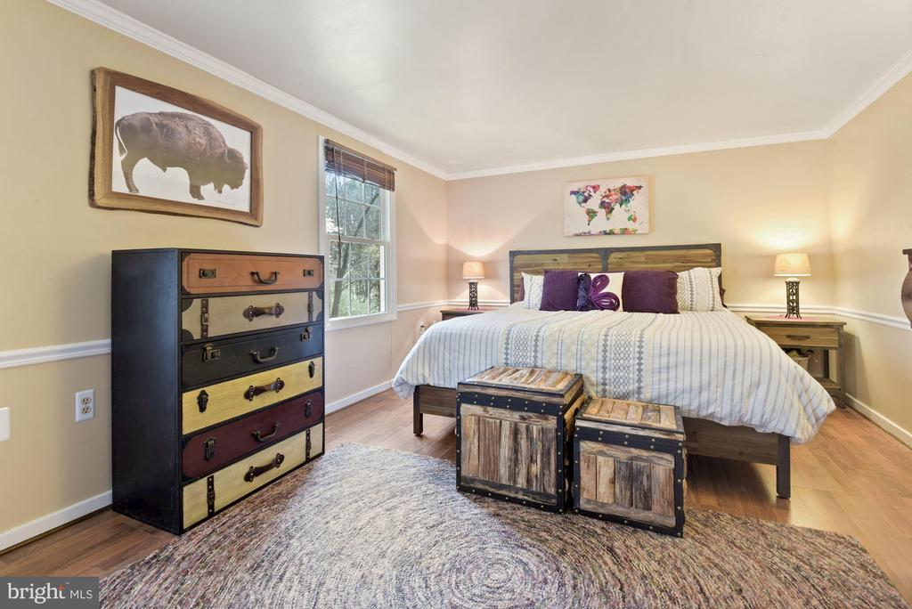 Primary Bedroom - Freshly Painted in March 2021! - 11007 HOWLAND DR, RESTON