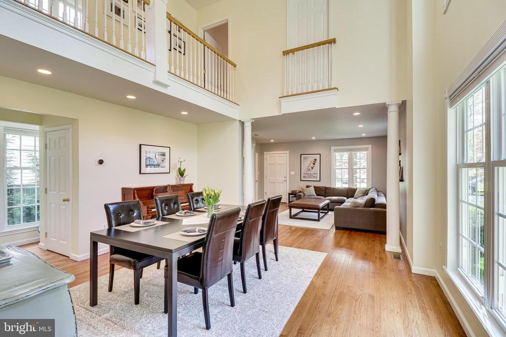 Dining room - 7945 BOLLING DR, ALEXANDRIA