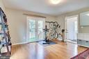 Main level family room, office or playspace - 7945 BOLLING DR, ALEXANDRIA