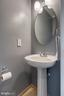 Half bath on main level - 6 BEAU RIDGE DR, STAFFORD