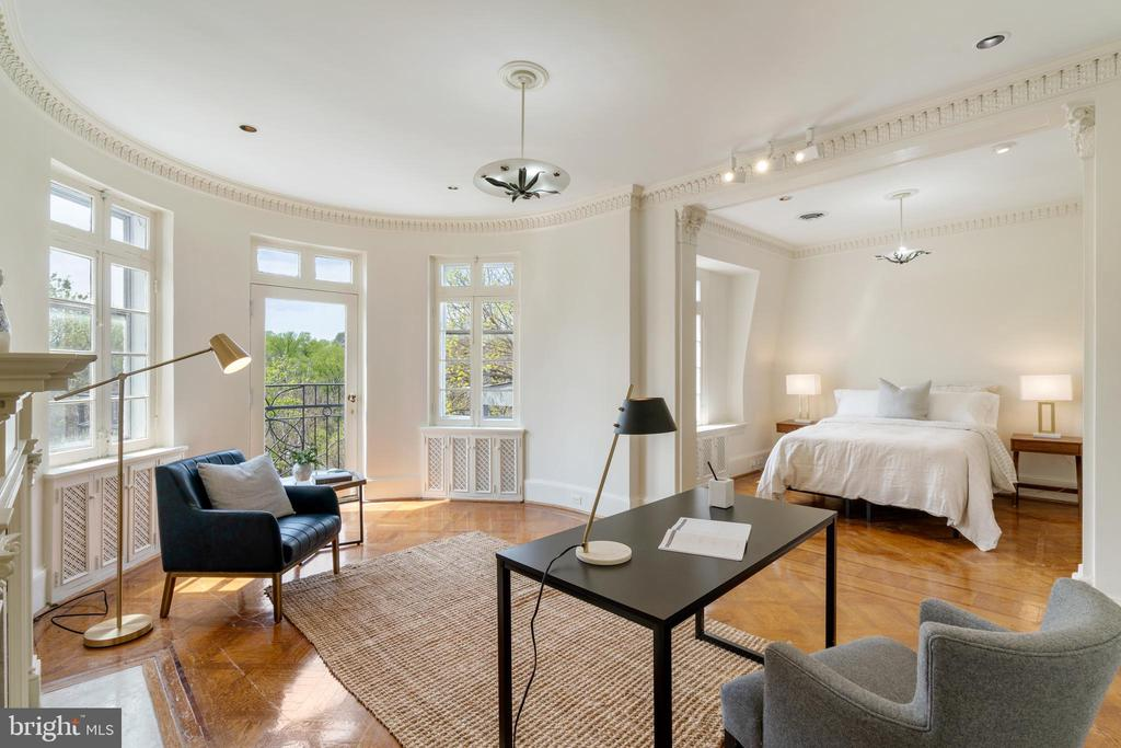 Bedroom 3 Sitting Room - 2358 MASSACHUSETTS AVE NW, WASHINGTON