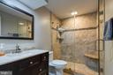 Full Bathroom in Basement - 54 CHRISTOPHER WAY, STAFFORD
