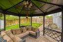 Large Gazebo to sit and relax - 54 CHRISTOPHER WAY, STAFFORD