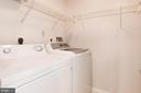 Separate laundry room - 1791 JONATHAN WAY #A, RESTON