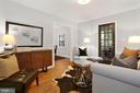 Living Room with door to porch - 1033 N MONROE ST, ARLINGTON