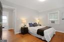 Hardwood floors throughout main & upper levels - 1033 N MONROE ST, ARLINGTON