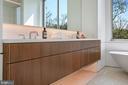 Floating Vanity Detail - 4640 CATHEDRAL AVE NW, WASHINGTON