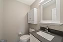 Powder room main level - 43490 MINK MEADOWS ST, CHANTILLY