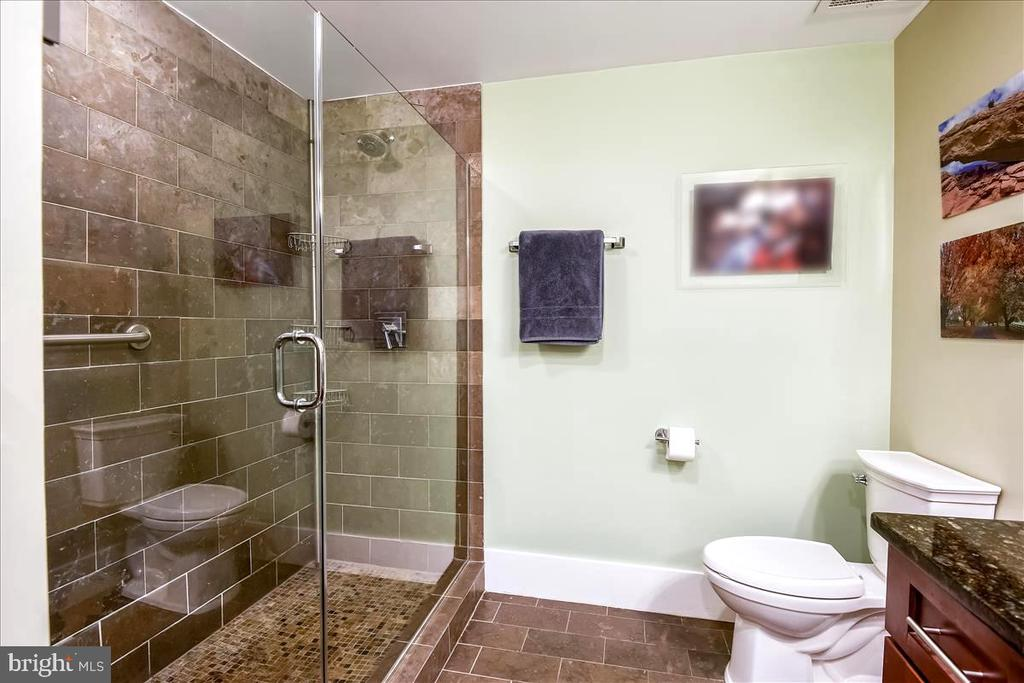 Primary Bath with walk-in shower - 1615 N QUEEN ST #M204, ARLINGTON