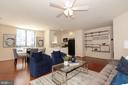 Living Room - 1200 N HARTFORD ST #502, ARLINGTON
