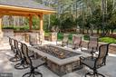 9' Resort Style Fire Pit - 22608 CREIGHTON FARMS DR, LEESBURG