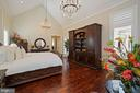 Luxurious Owner's Suite with 16' Cathedral Ceiling - 22608 CREIGHTON FARMS DR, LEESBURG