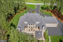 Bird's Eye View of Incredible Outdoor Living Space - 22608 CREIGHTON FARMS DR, LEESBURG