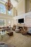 Two-Story Great Room with Abundant Natural Light - 22608 CREIGHTON FARMS DR, LEESBURG