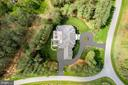 French Manor Estate on 3+ Private Tree Lined Acres - 22608 CREIGHTON FARMS DR, LEESBURG