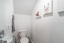 Half bath of Unit 1 - 1723 19TH ST NW, WASHINGTON